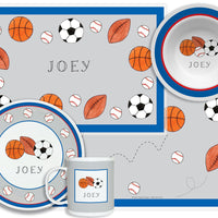 Sports Fan Kid's Tabletop Set