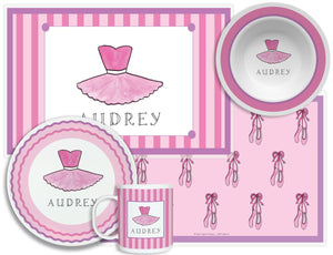 Ballerina Girl Kid's Tabletop Set
