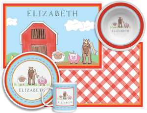 Down on the Farm Kid's Tabletop Set