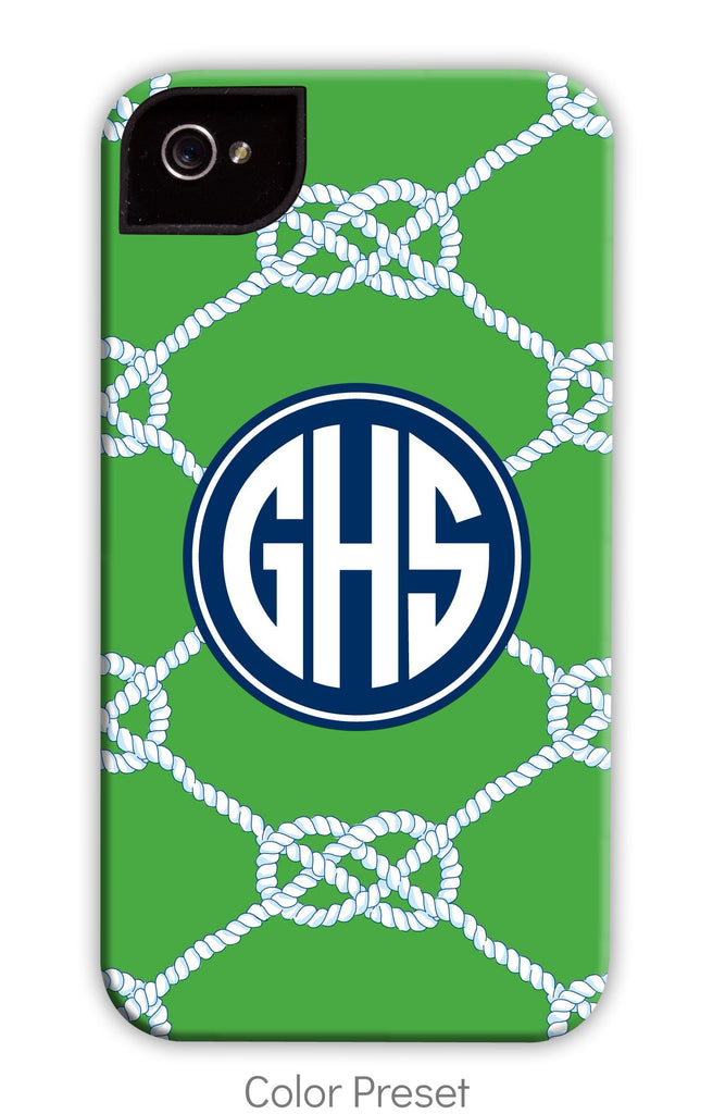 Nautical Knot Kelly Phone Case