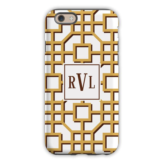 Fret Beige Phone Case