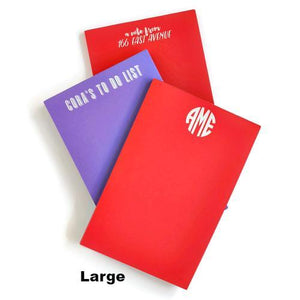 Design Your Own Primary Color Notepad
