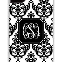 Madison Damask Black Phone Case