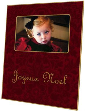 Cranberry Damask Picture Frame
