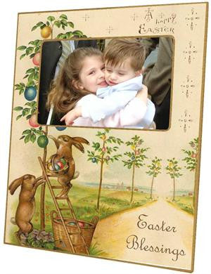 Happy Easter Picture Frame
