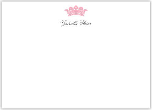 Princess Flat Notecard