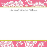 Savannah Pink Flat Notecard