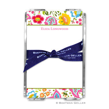Bright Floral Notepad