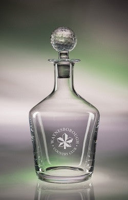 Monogrammed 34oz. Craft Golf Decanter
