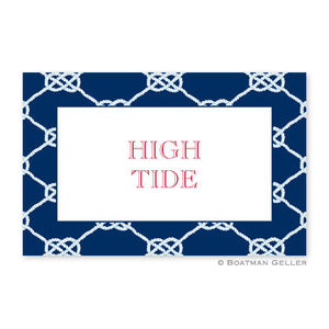 Nautical Knot Navy Placemat