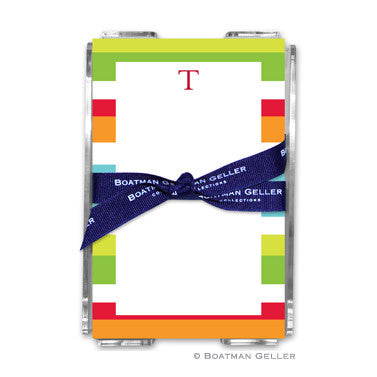 Espadrille Bright Notepad