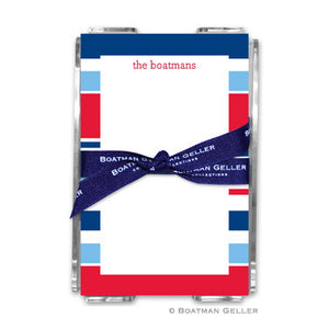 Espadrille Nautical Notepad