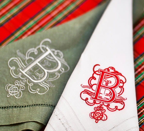 Pretty Plaid Monograms