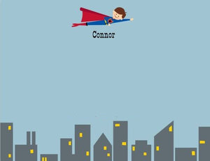 Superhero Flat Notecard