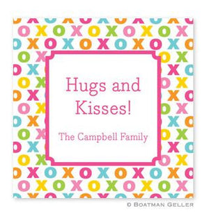 Hugs and Kisses Stickers