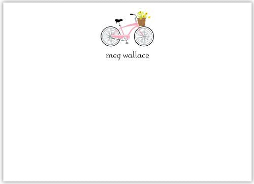 Bicycle Flat Notecard