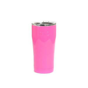 Monogrammed 20oz Tumbler Gloss (Hot Pink)