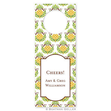 Pineapple Repeat Wine Tag