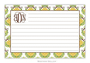 Pineapple Repeat Recipe Card