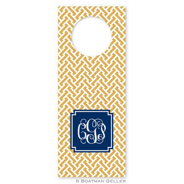 Stella Gold Wine Tags