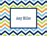 Chevron Folded Notes (5 Colors)