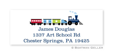 Choo Choo Address Label