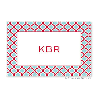 Kate Red & Teal Placemat