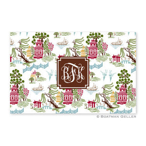 Chinoiserie Autumn Placemat
