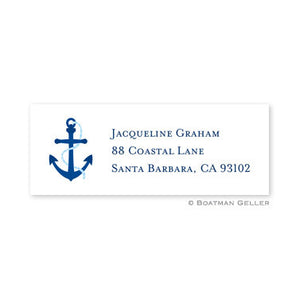 Anchor Address Label