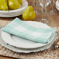 Easy Care Buffalo Plaid Napkins/Set of 4