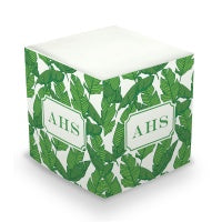 Banana Leaf Sticky Memo Cube (2 Sizes)