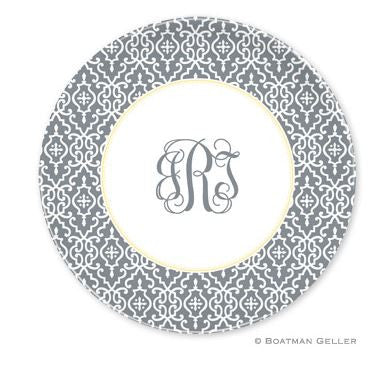 Wrought Iron Melamine Plate