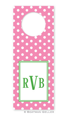 Polka Dot Wine Tags