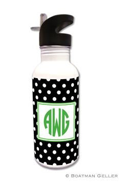 Polka Dot Water Bottle