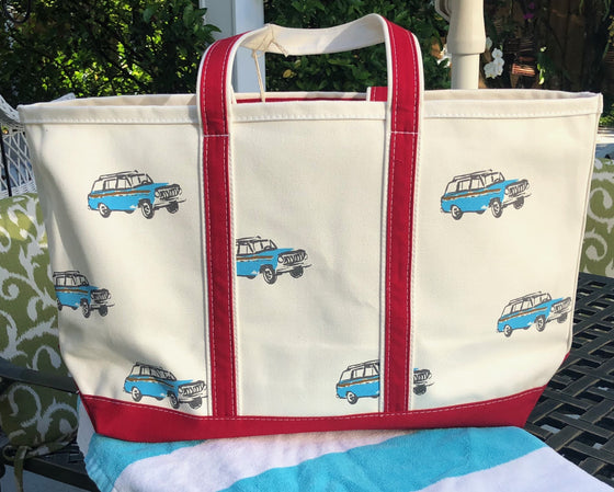 Woody Wagon Classic Tote