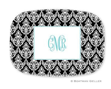 Madison Damask Melamine Platter