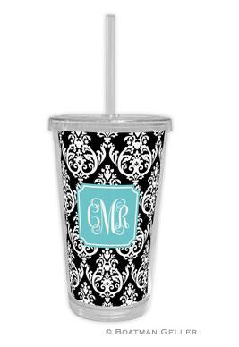 Madison Damask Beverage Tumbler