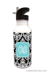 Madison Damask Water Bottle