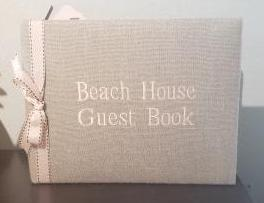 Beach House Guest Book