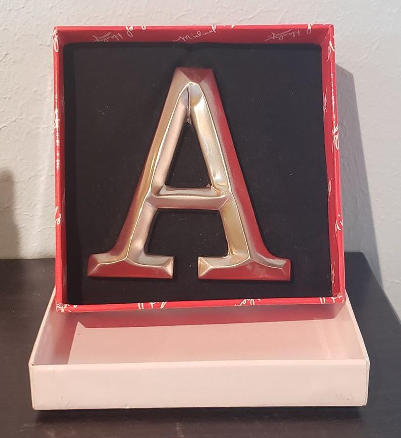 "Monogrammed Door Knockers ""A"""