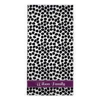 Organic Dots Beach Towel
