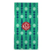Topiary Beach Towel