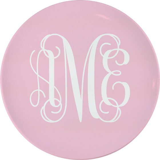 "Customizable 8"" Melamine Salad Plate"