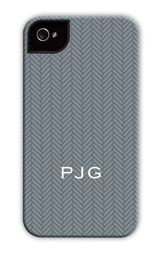 Herringbone Stone Phone Case