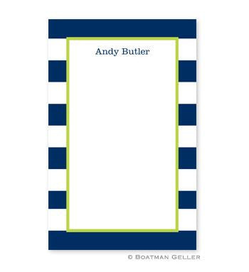 Awning Stripe Notepad
