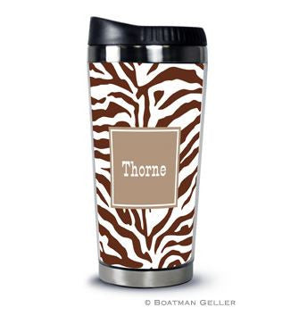 Zebra Travel Tumbler