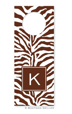 Zebra Wine Tags