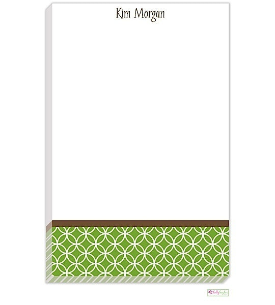 Personalized Clover Modern Notepad