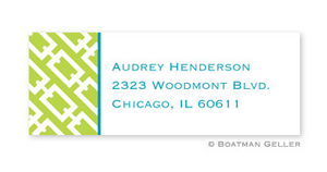Chain Link Address Label