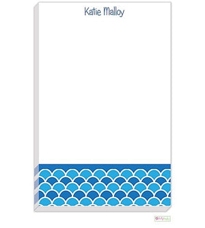 Personalized Shells Modern Notepad